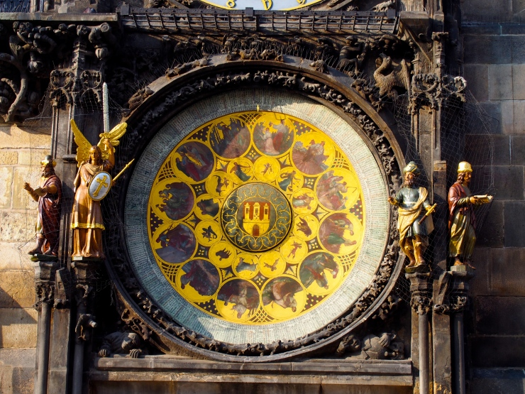 Prague astronomical clock.