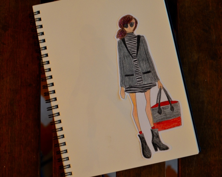 Next is a more elevated look. This one's can be dressed up or dressed down, perfect for work or a day of shopping.