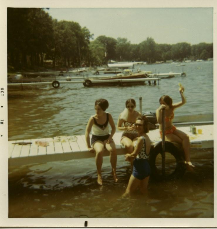 Lake Wawasee 1970 Martha