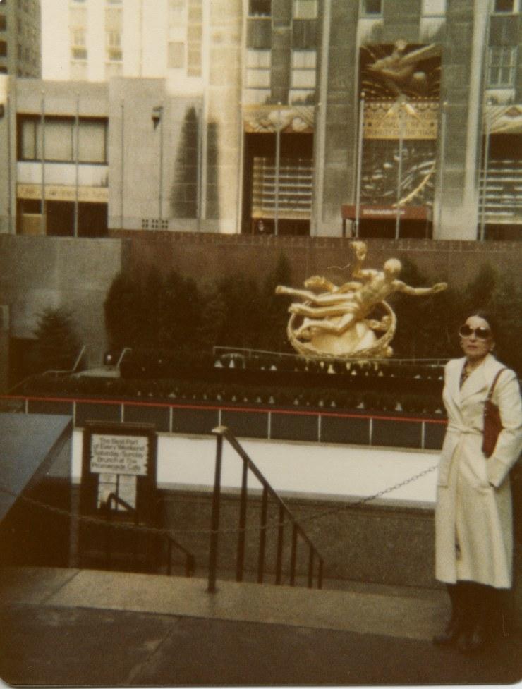 Martha - New York - ROckefellar Center - March 1978