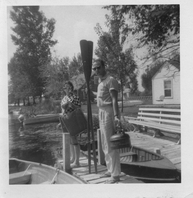 Summer 1959 Martha and Dale McLaughlin